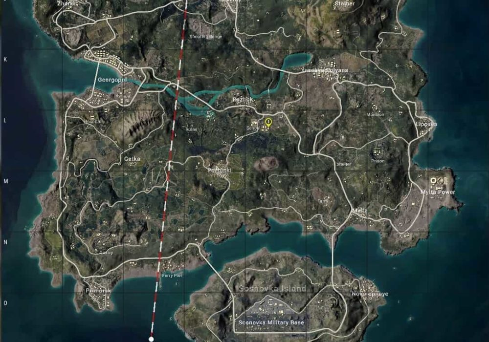 best loot places in erangel map